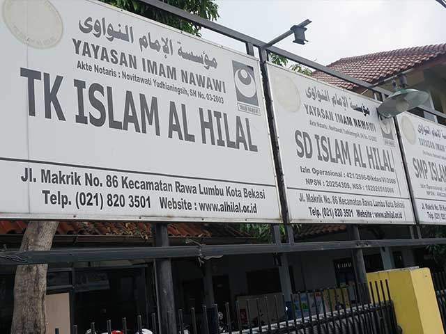 Lingkungan Sekolah Islam Al Hilal