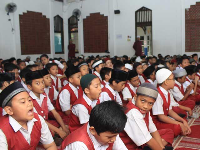 Aktifitas Siswa SD Al Hilal Putra