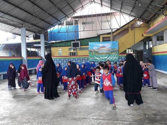 Aktivitas Siswa Siswi TK Al Hilal